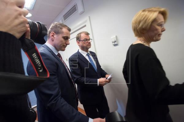 Finland's entire government resigns after breakdown of agreement on welfare state reform