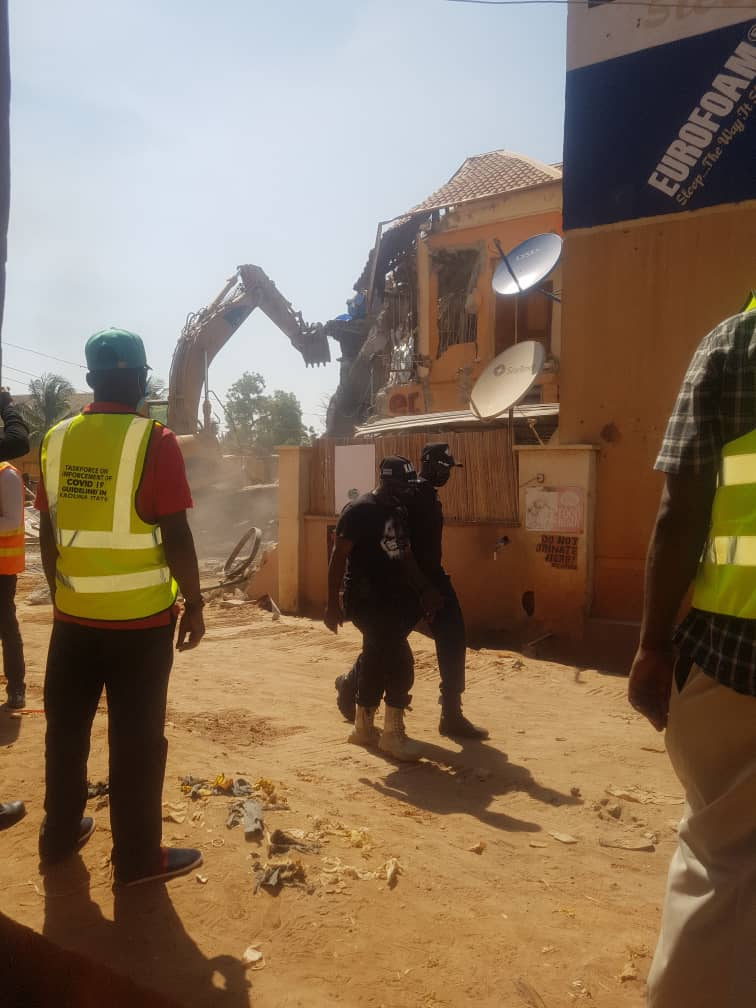 """Demolished Kaduna """"Sex Party hotel"""" owners decry injustice, threatens court action"""
