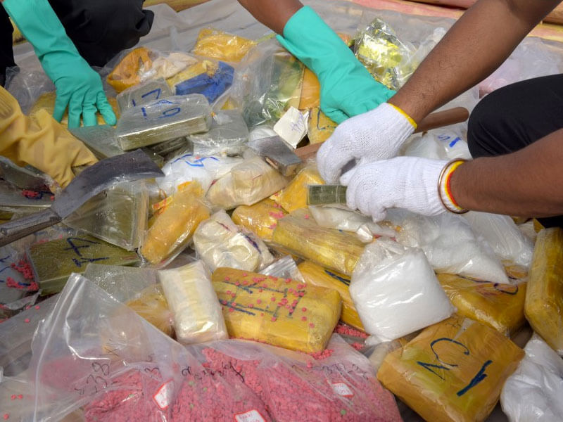 NDLEA recovers 35 wraps of cocaine from ladys underwear at Lagos airport