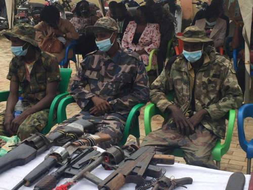 Police Nab   Kidnappers Involved In Abduction Of Bethel School Students.