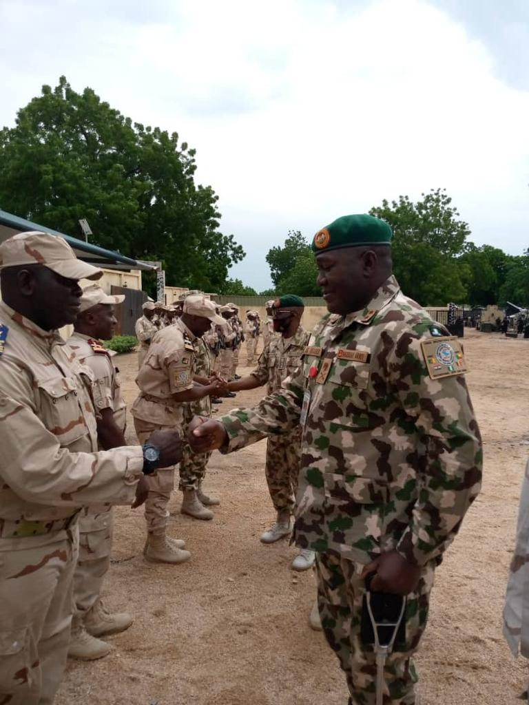 Multi National Joint Task Force FC Tours Formation